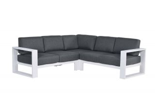 Garden Impressions Cube loungeset - 3-delig - Wit