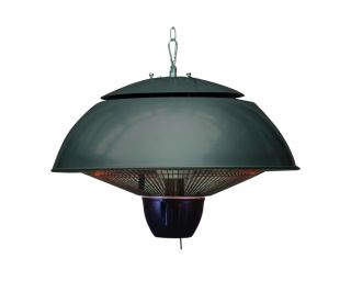 GI Bordeaux hangende heater 43cm. Royal Grey