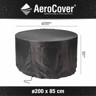 Ronde tuinsethoes 200x85 cm. - Aerocover