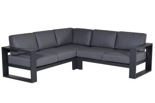 Garden impressions Cube loungeset - 3-delig - Carbon