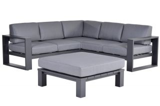 Garden Impressions Cube loungeset - 4-delig - Carbon