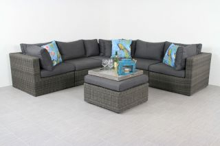 Suns XL loungeset Garda - Antraciet