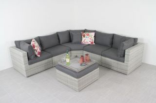 Suns Parma loungeset XL - White grey