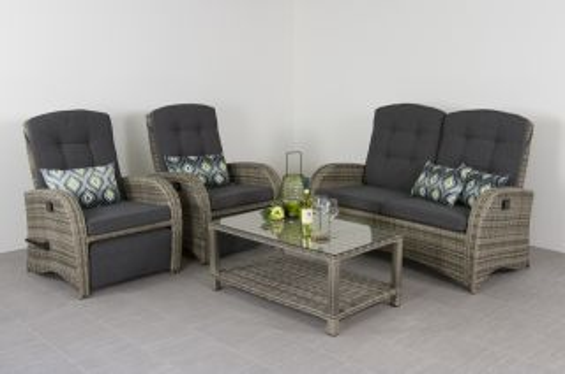 Verstelbaar loungeset Casablanca
