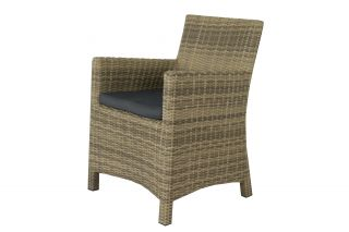 Wicker tuinstoel Oliva - Natural Sand