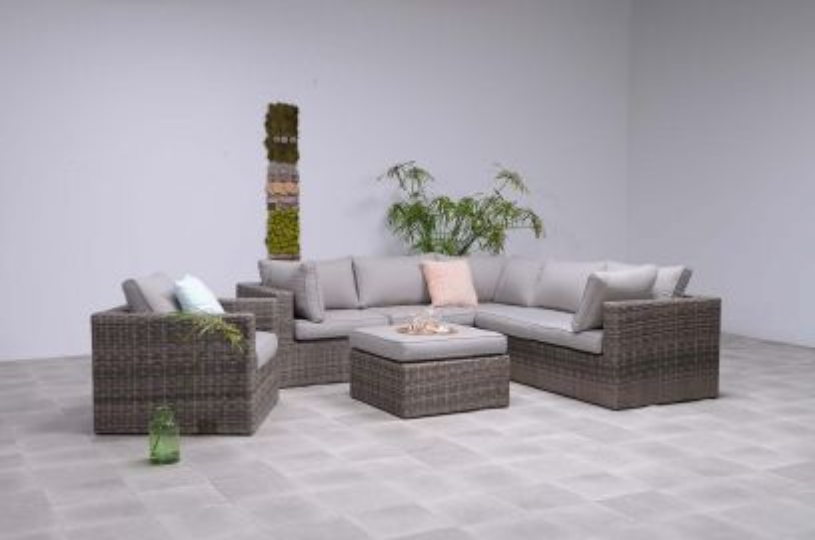 Silvester loungeset - inclusief loungestoel - New kubu