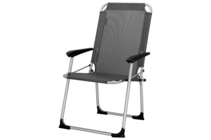 Travellife Ancona compact stoel - donkergrijs