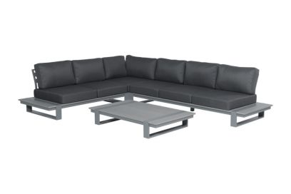 Garden Impressions Linate loungeset - Links - Vironwood grey
