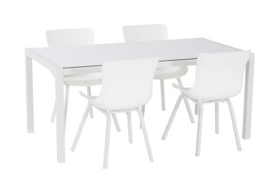 Hartman Sophie Element dining tuinset - White - 5-delig