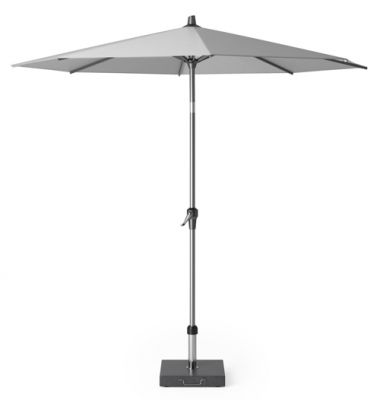 Platinum Riva parasol 2,5 m. rond - Light Grey
