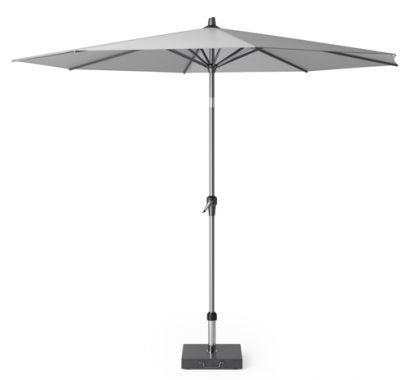 Platinum Riva parasol 3 m. rond - Light Grey