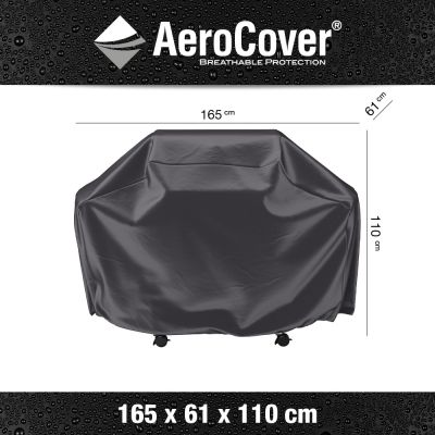 Aerocover barbecue hoes - 165x61x110 cm.