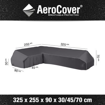 Aerocover platform loungesethoes 325x255 cm - Links