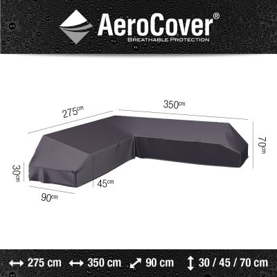 Aerocover platform loungesethoes 350x275 cm - Links