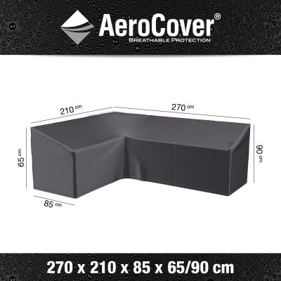 Aerocover Lounge-dininghoes 270x210 cm - Links