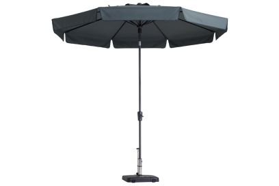 Madison parasol Flores luxe grey 300 cm.