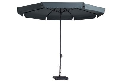 Madison parasol Syros luxe grey 350 cm.