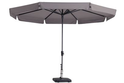 Madison parasol Syros luxe taupe 350 cm.
