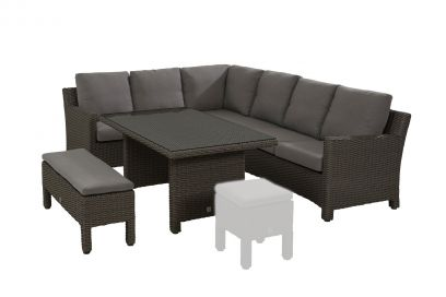 Taste Adora lounge dining set Nero – links