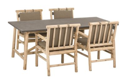 Apple Bee Rooty dining tuinset - Teak