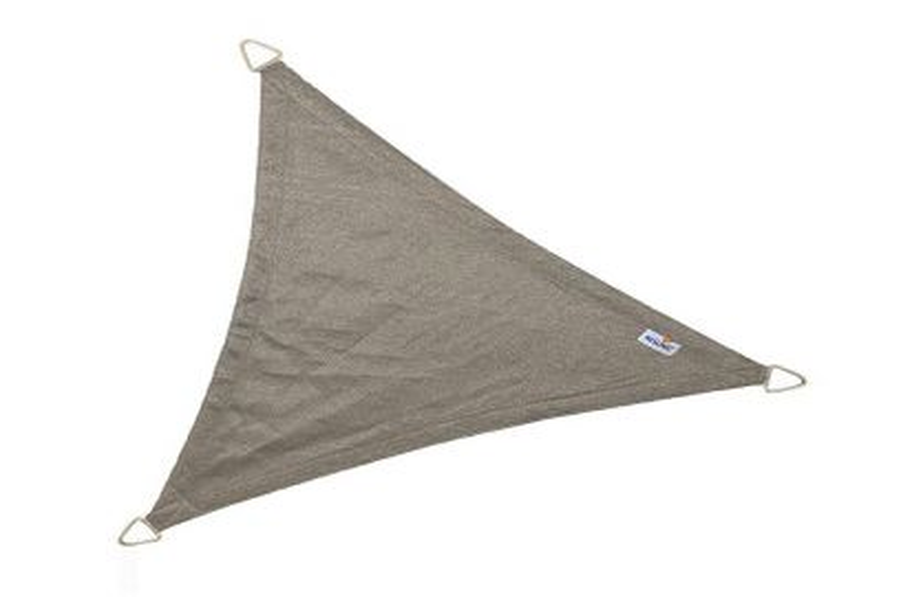 Nesling Coolfit schaduwdoek driehoek antraciet 3,6 x 3,6 x 3,6 m.