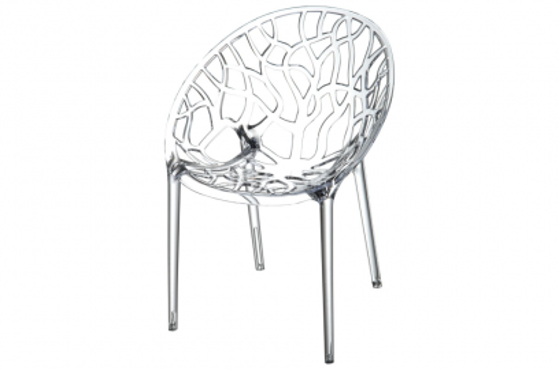Siesta Crystal stapelbare stoel - Transparant