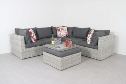 Suns Parma loungeset - white grey