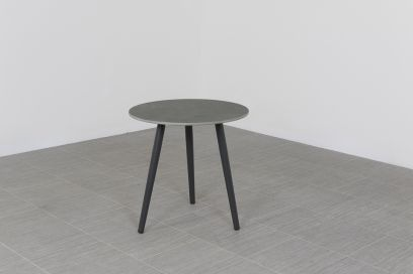 Brasilia bijzettafel 50 cm. - Antraciet - Ceramic