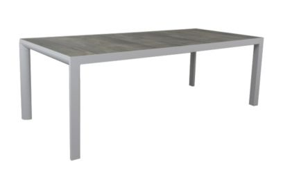 Kings tuintafel light grey - 220x100 cm.