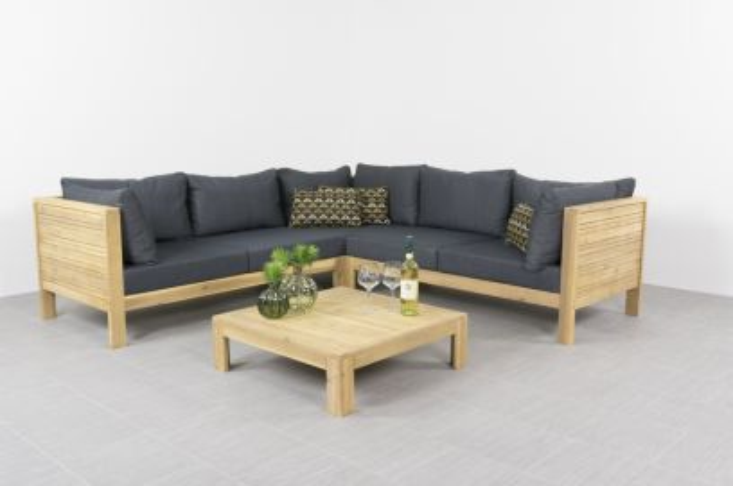 Lido houten loungeset