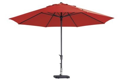Madison parasol timor luxe brick red 400 cm.