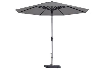 Madison Paros parasol - 300 cm. - Light grey
