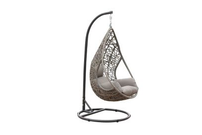 Swing Egg Stoel.Hangstoelen Swinging Egg In De Tuin Vandergarde