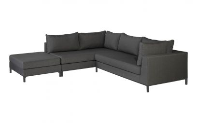 Exotan Sicilië loungeset links - stone grey