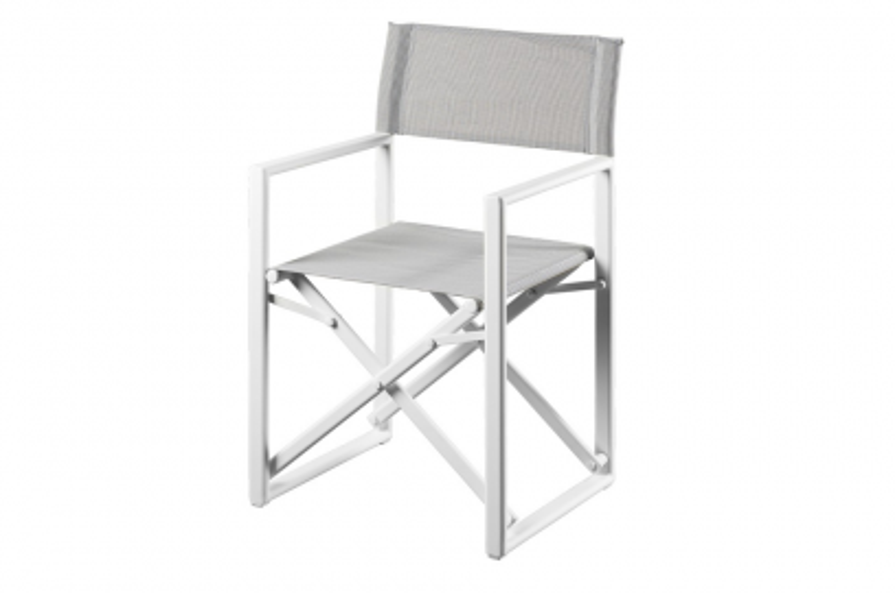Suns Lake regiseur stoel - White