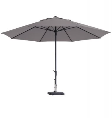 Madison parasol timor luxe Taupe 400 cm.