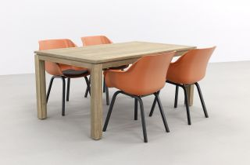 Hartman Sophie Element Terra/Rome grey 170 cm. tuinset - 5-delig