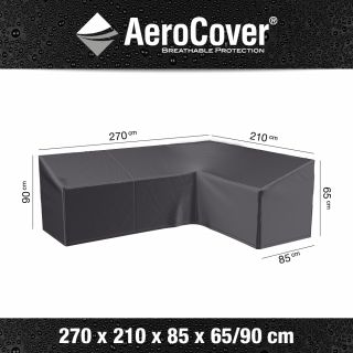Aerocover Lounge-dininghoes 270x210 cm - Rechts