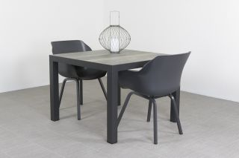 Sophie Element antraciet/Kings 100 cm. tuinset - 3-delig