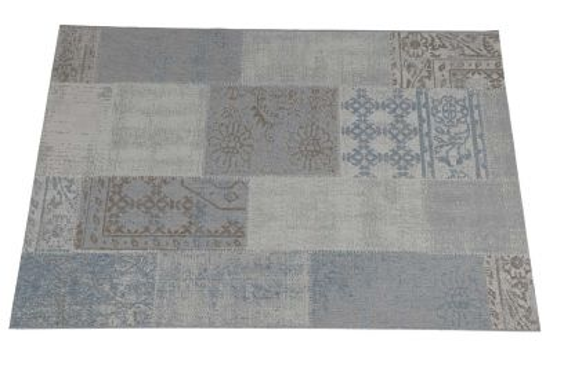 Garden Impressions Blocko buitenkleed 200 x 290 cm. - Grey Blue