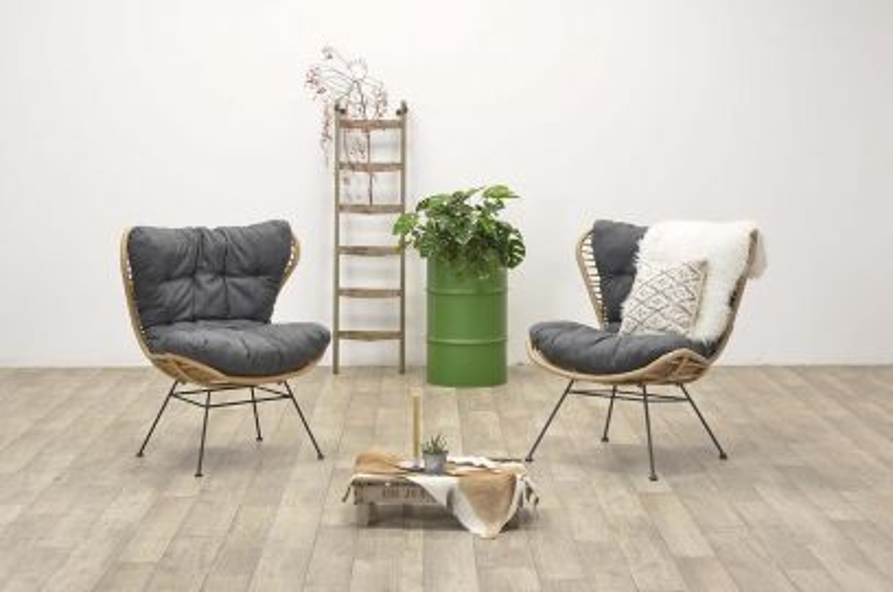 Libelle retro loungestoel - set van 2