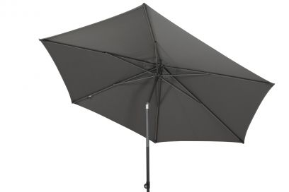 4-Seasons stokparasol Oasis 300 cm - Antraciet