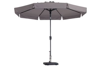 Madison stokparasol Flores luxe Taupe 300 cm.