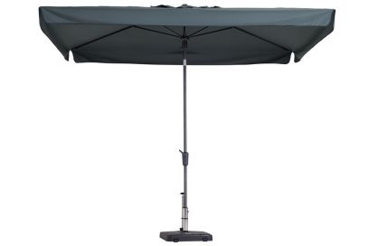 Madison stokparasol Delos luxe grey 200x300 cm.