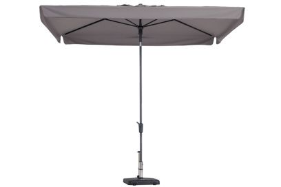 Madison stokparasol Delos luxe taupe 200x300 cm.