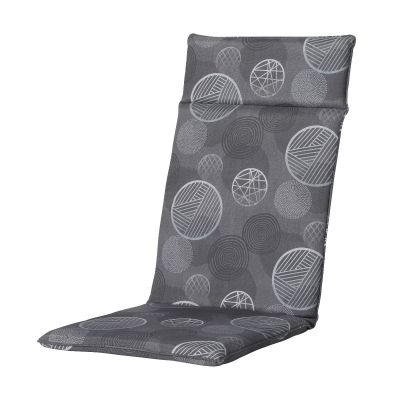 Madison hoge rugkussen Circle Grey - Universeel