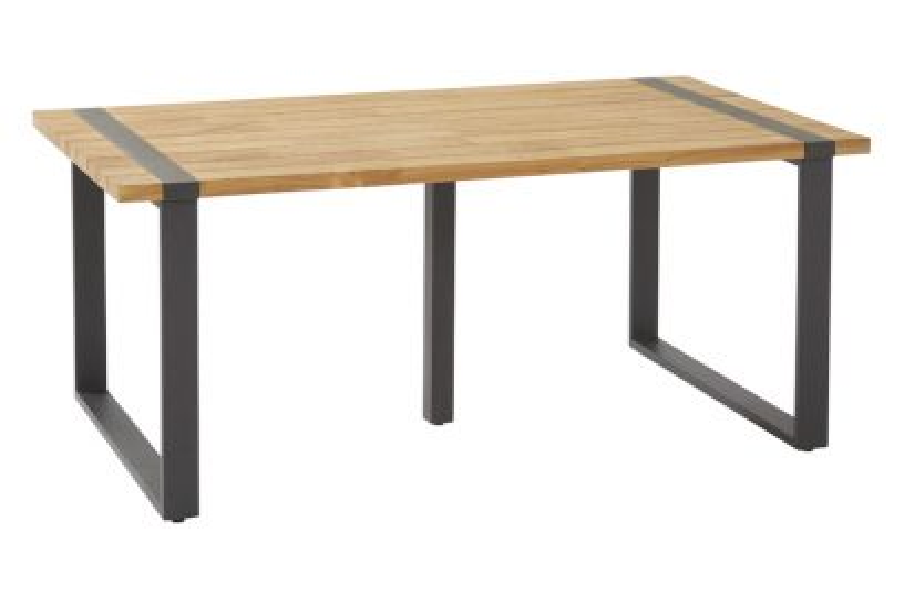 Taste Alto tuintafel - teak hout - 180x100 cm.