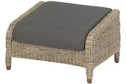 4-Seasons Brighton Footstool - Pure