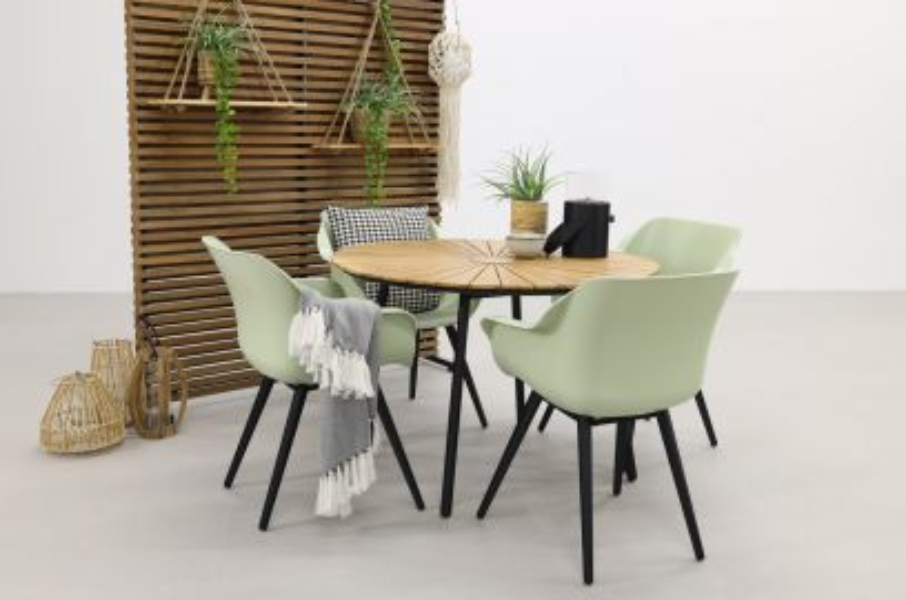 Hartman Sophie Studio French/Dave teak 110 cm. tuinset - 5-delig
