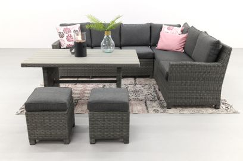 Cordoba lounge diningset - Rechts